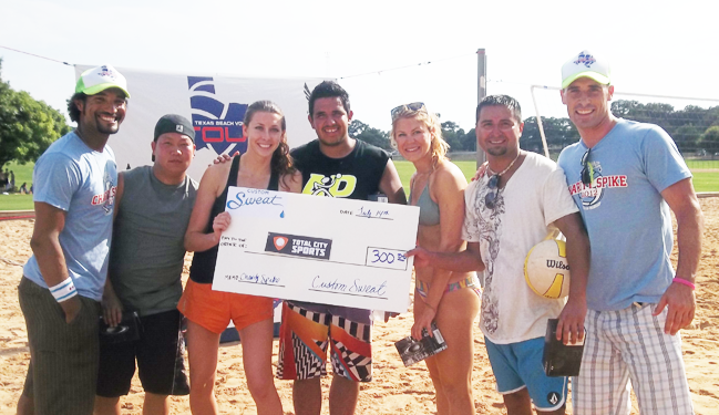 Charity Spike Winners