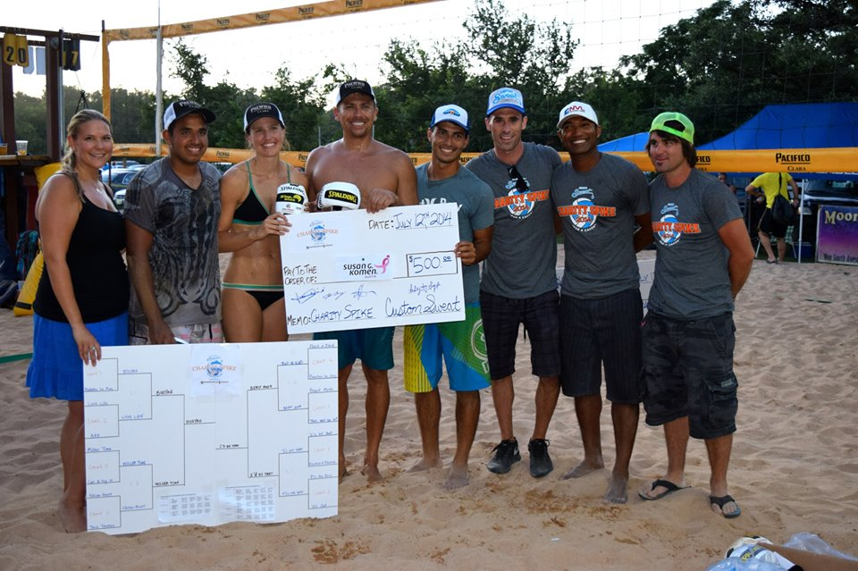 2014 Charity Spike Champions